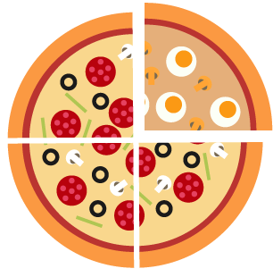 Pizza by Slice
